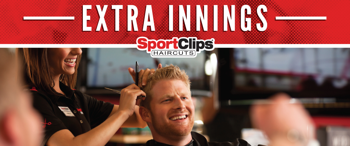 The Sport Clips Haircuts of Constant Friendship Extra Innings Offerings