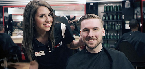 Sport Clips Haircuts of Constant Friendship​ stylist hair cut
